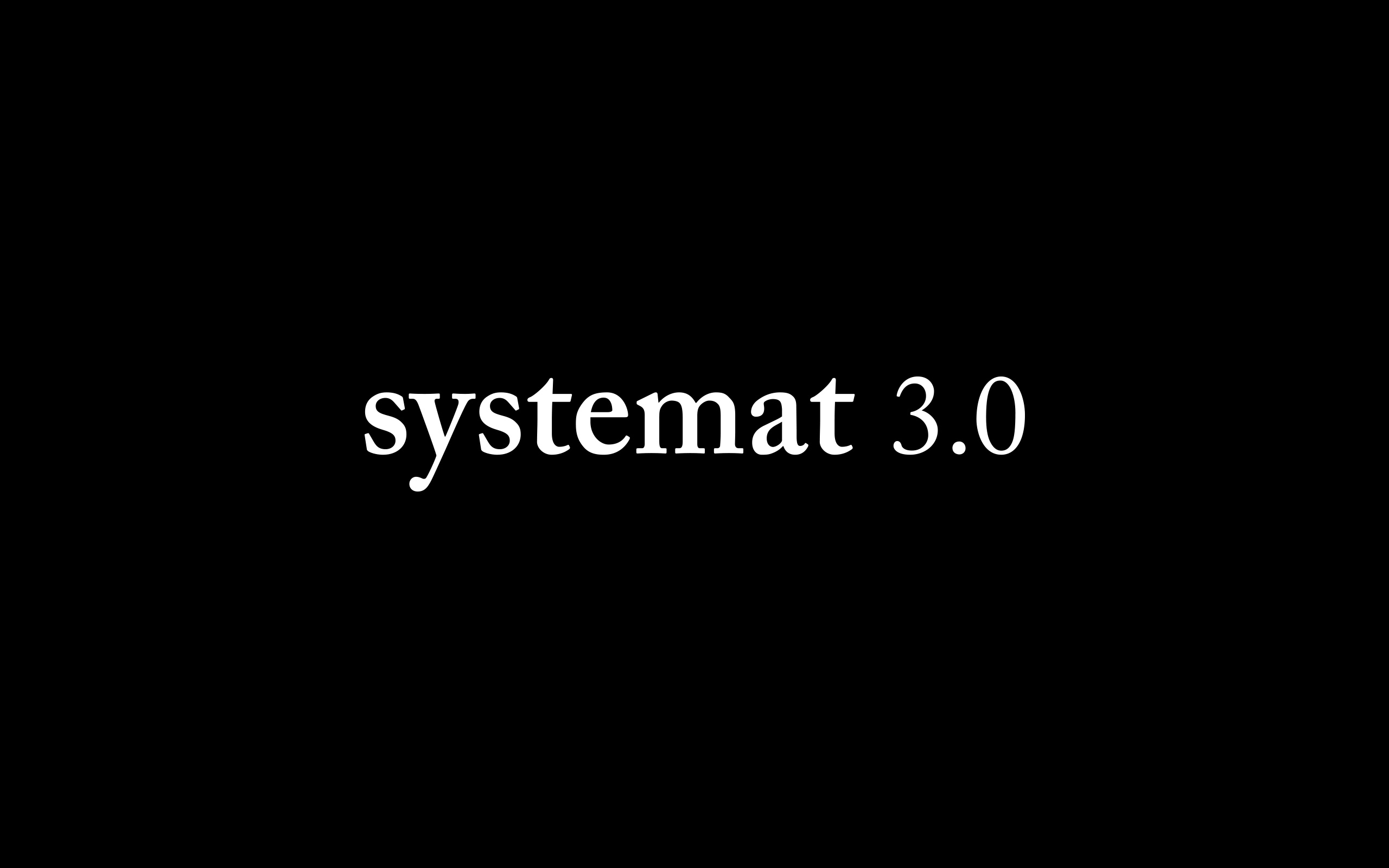 [Translate to Polski:] systemat 3.0
